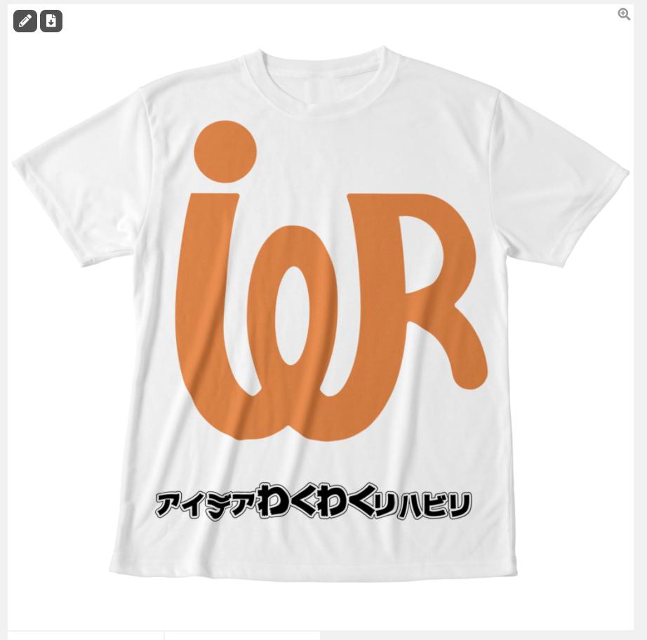 ロゴ グラフィックTシャツ