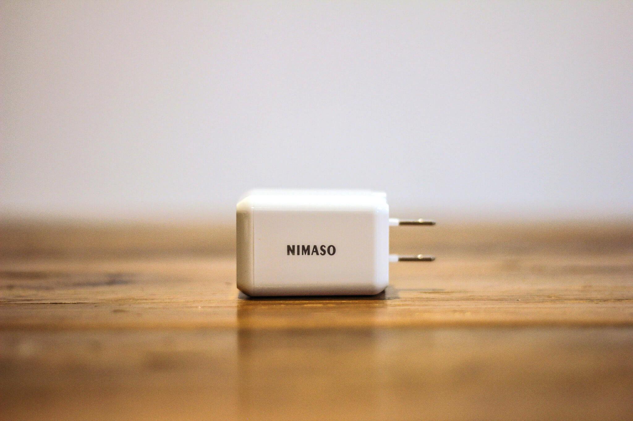 Nimaso 充電機器 アダプター 本体