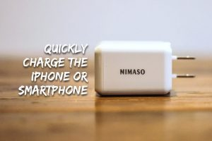 Quickly charge the iPhone or smartphone
