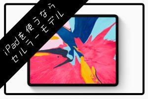 iPad Wi-Fi セルラー 比較 記事 アイキャッチ