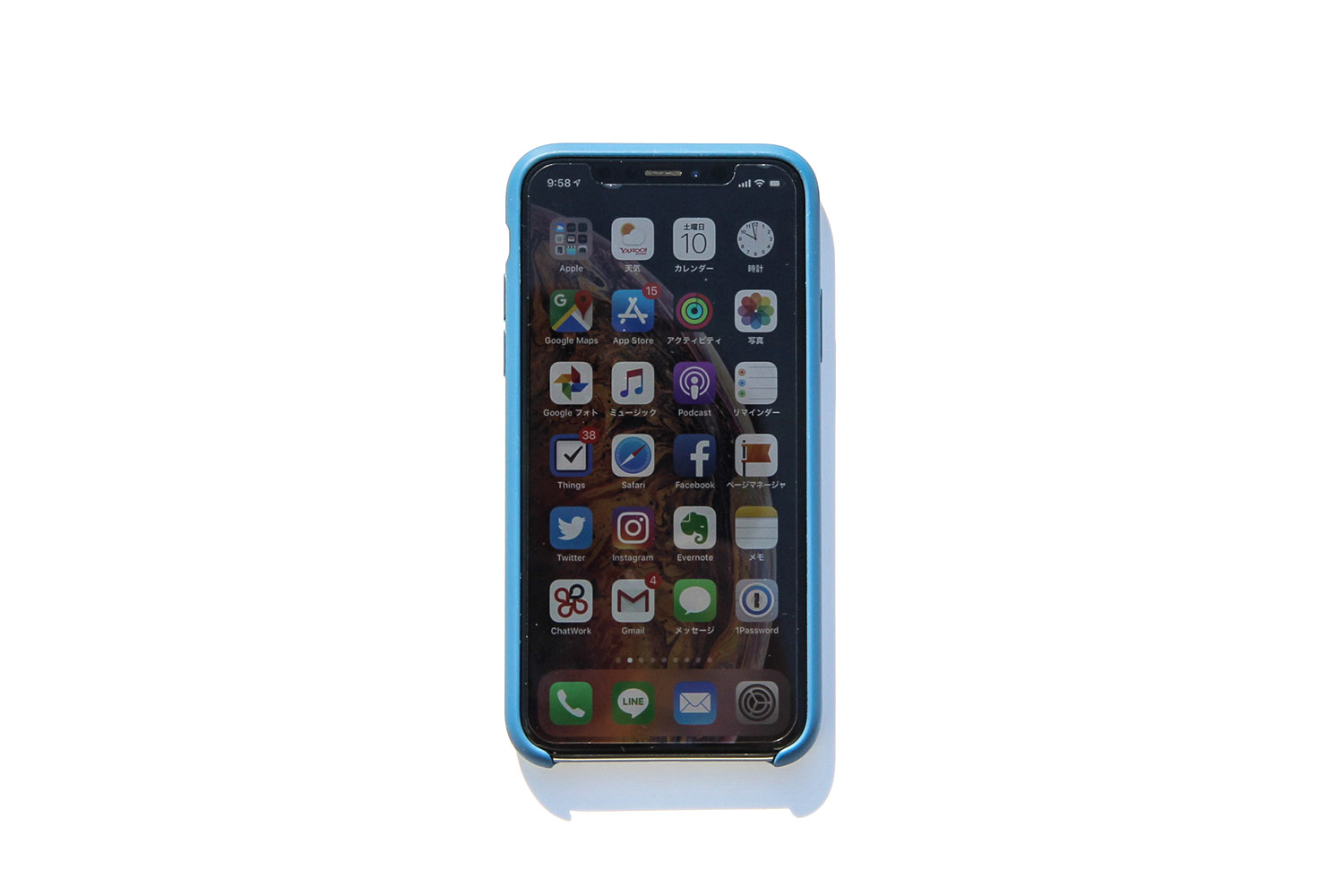 iPhone Xs/X Apple silicone case front