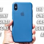 Apple genuine original silicone case