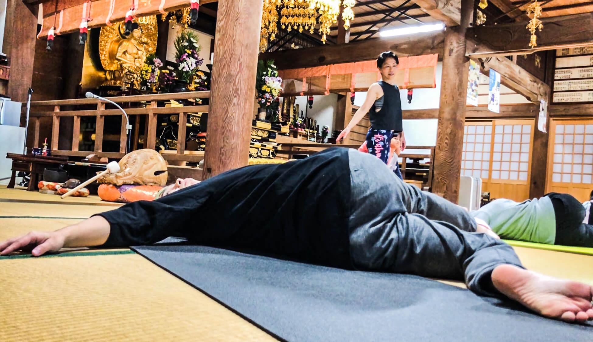 寺ヨガ 写真