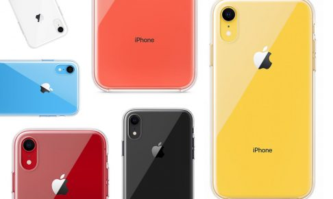 iPhone XR ケース 装着 写真