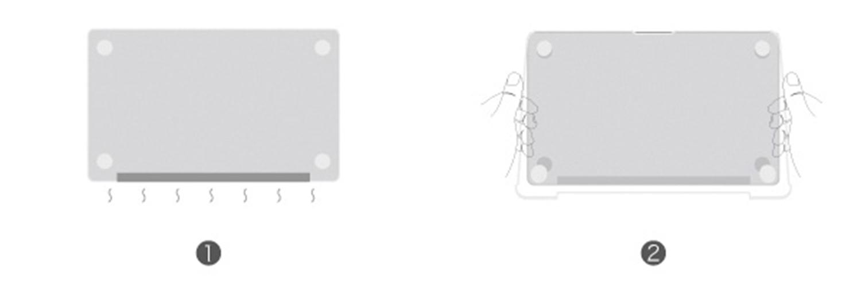 moshi iGlaze Pro Mounting method 3