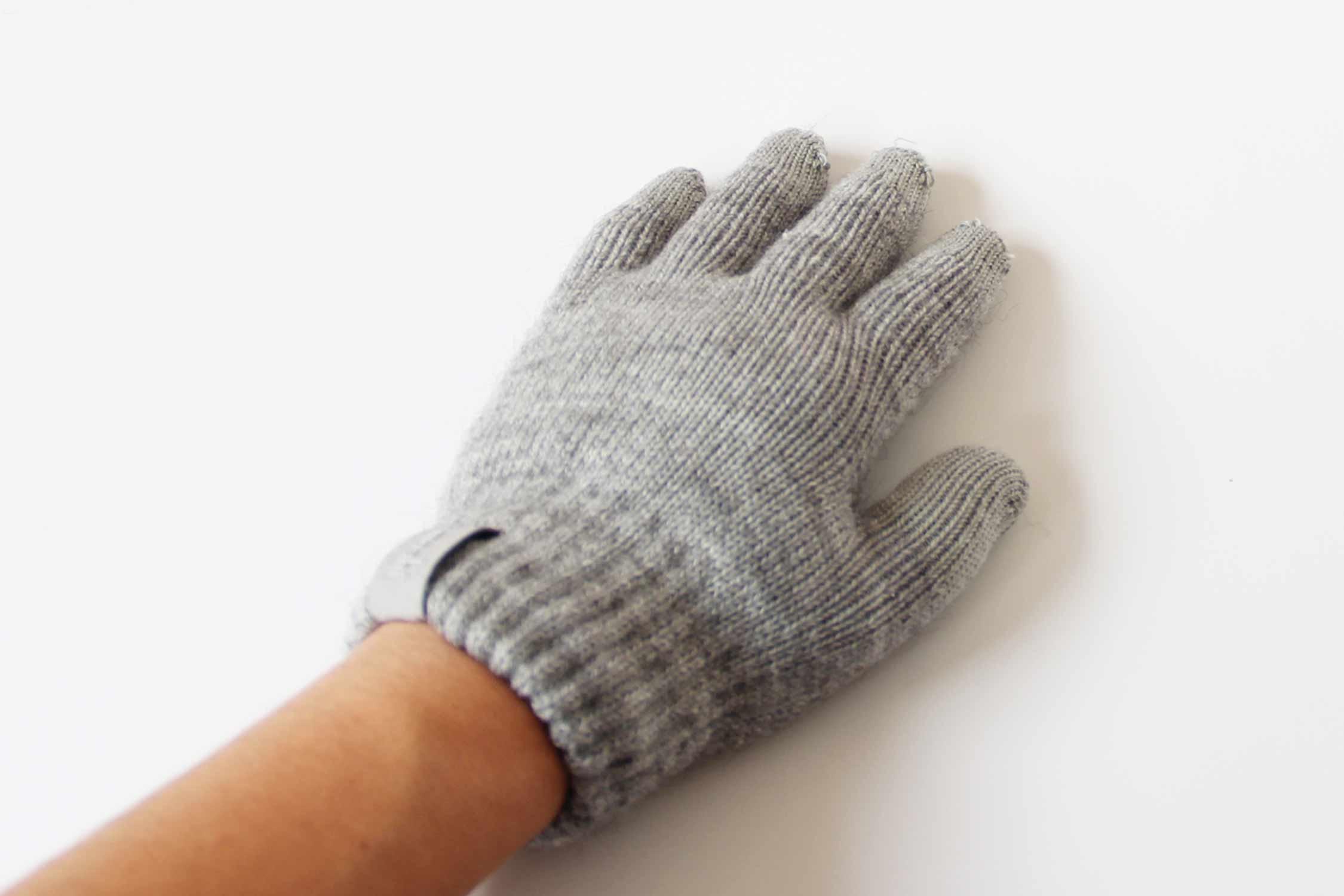 スマホ 手袋 装着 写真2
