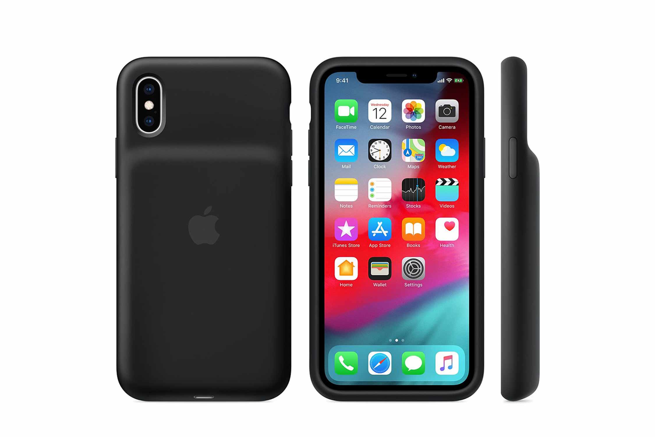 iPhone XS smart Battery case 画像