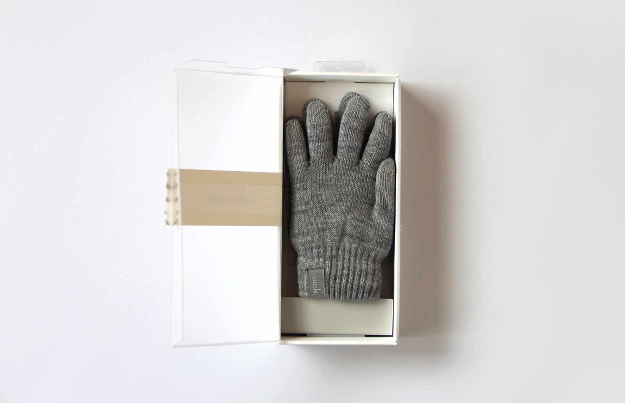 スマホ 手袋 パッケージ 開封写真