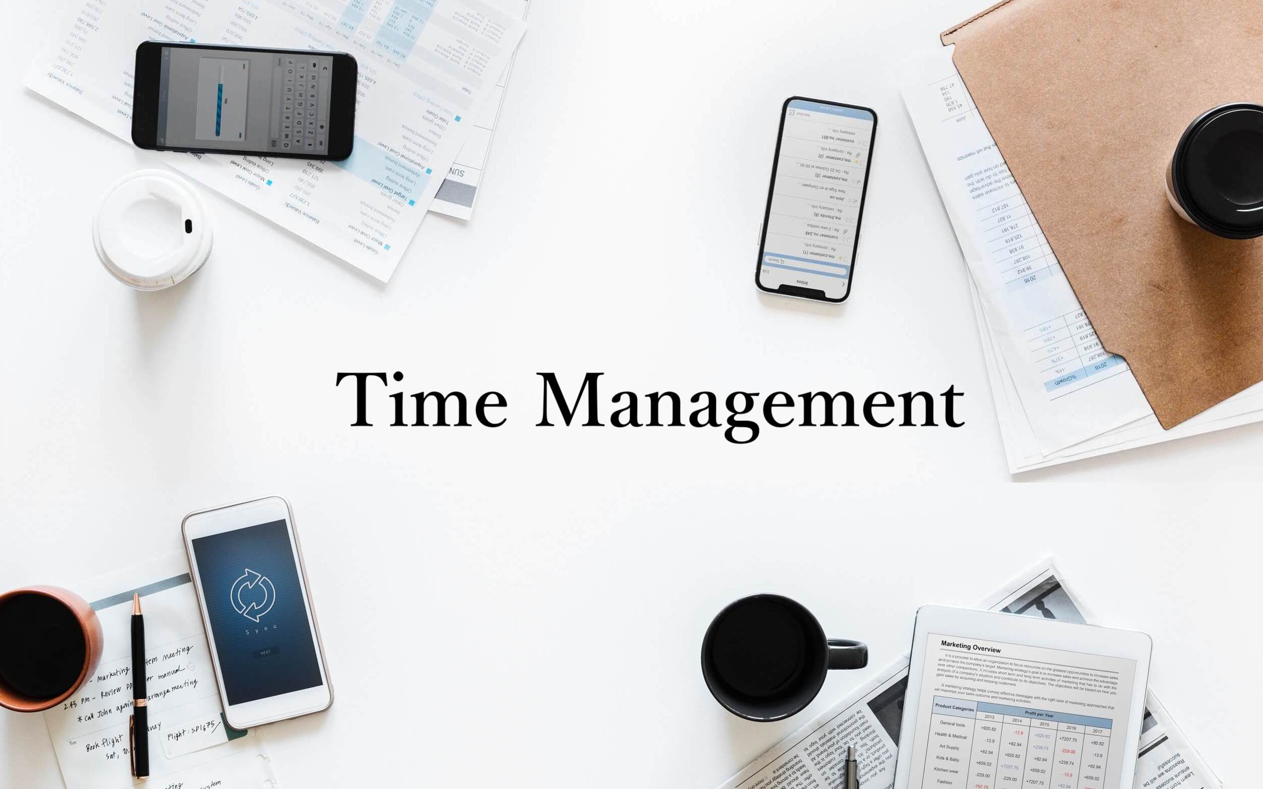 Time Management 画像