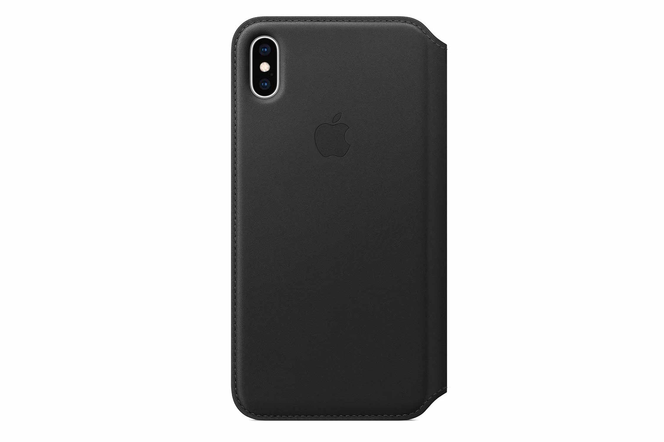 Apple iPhone XS Maxレザーフォリオ