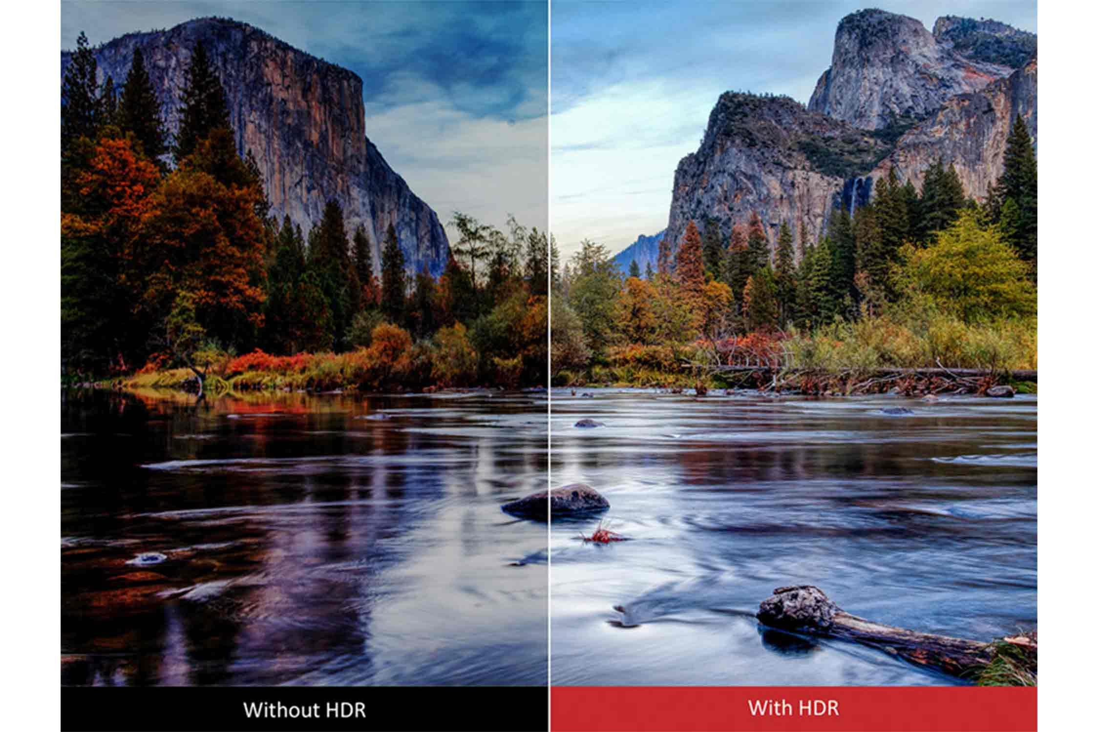 HDR対応 イメージ