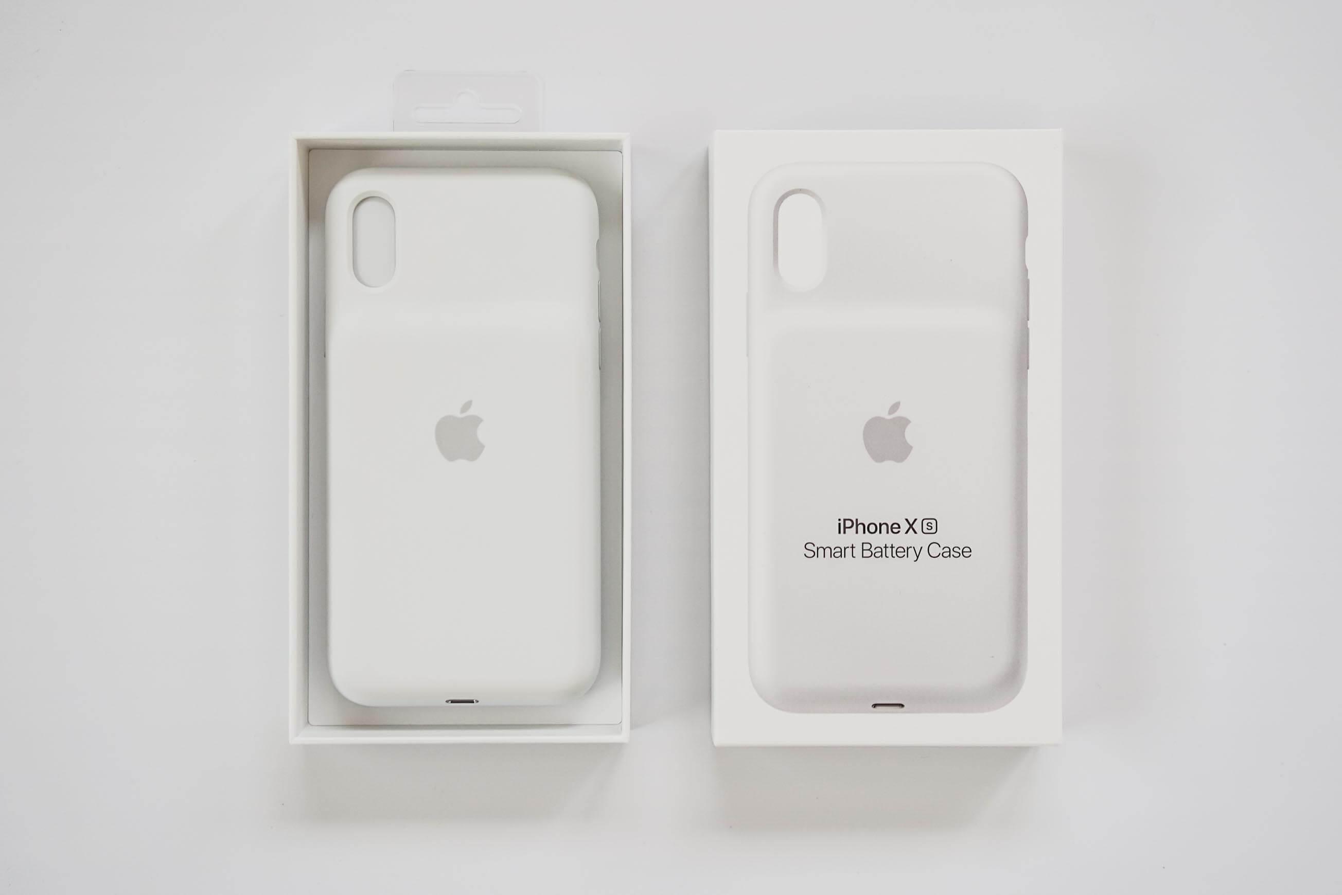 iPhone XS Smart Battery Case 開封