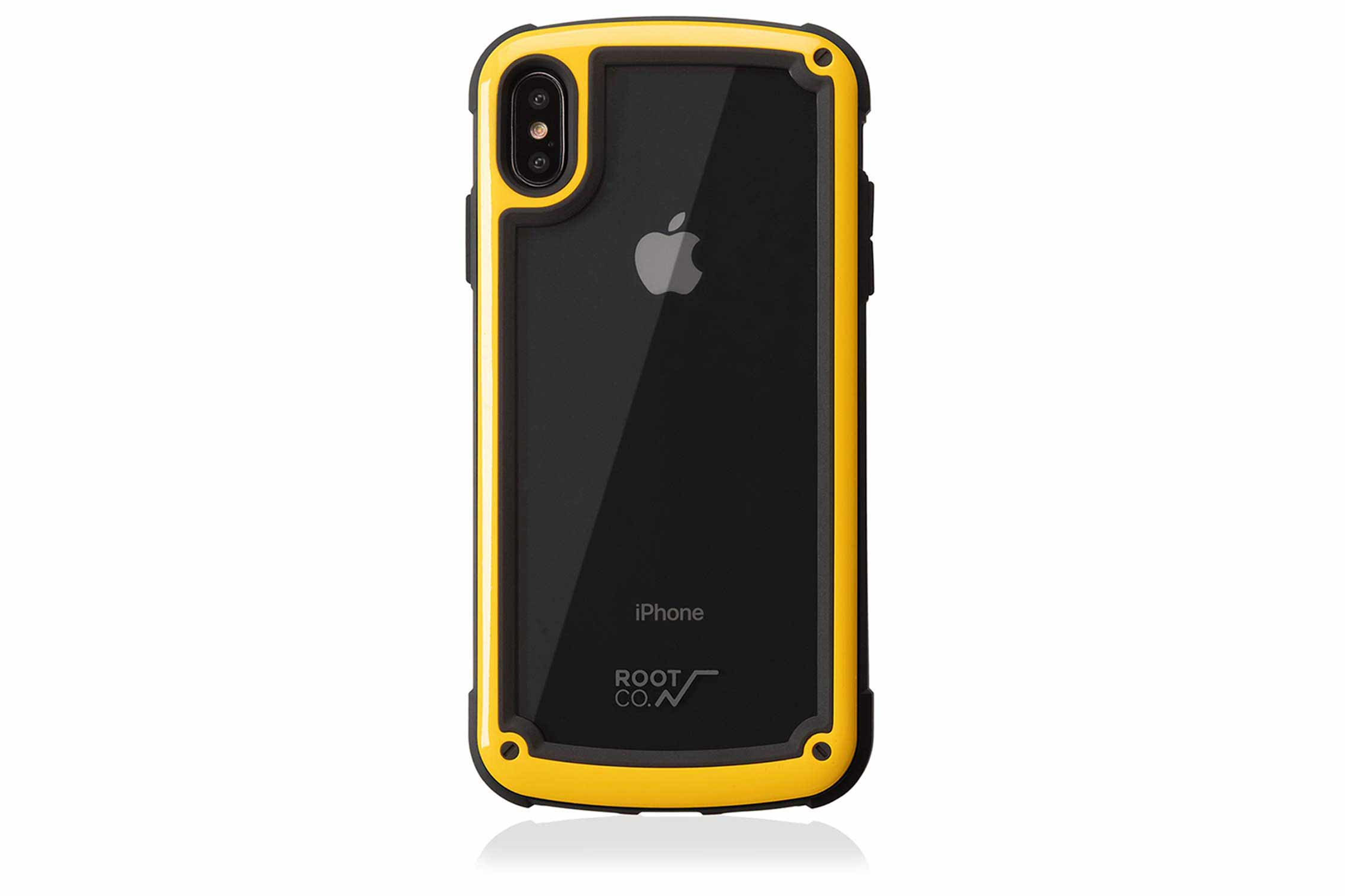 【ROOT CO.】iPhoneXS Max ケース 耐衝撃 Gravity Shock Resist Tough & Basic Case.