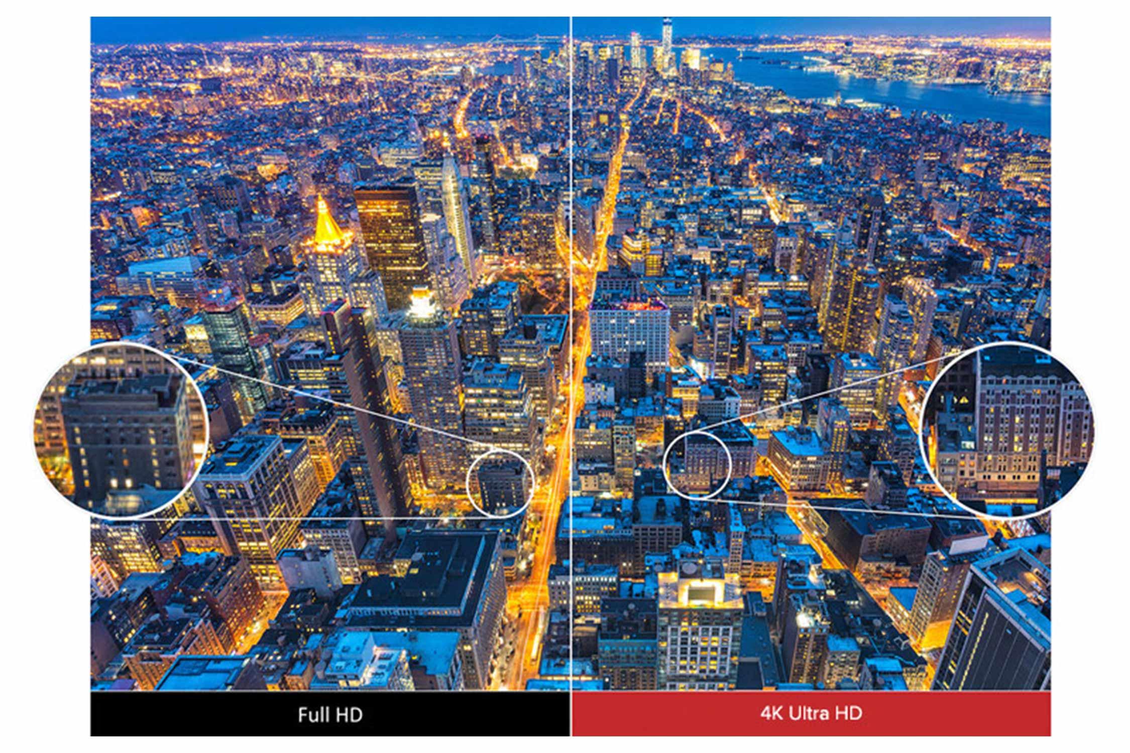 4K Ultra HD 高画質 イメージ