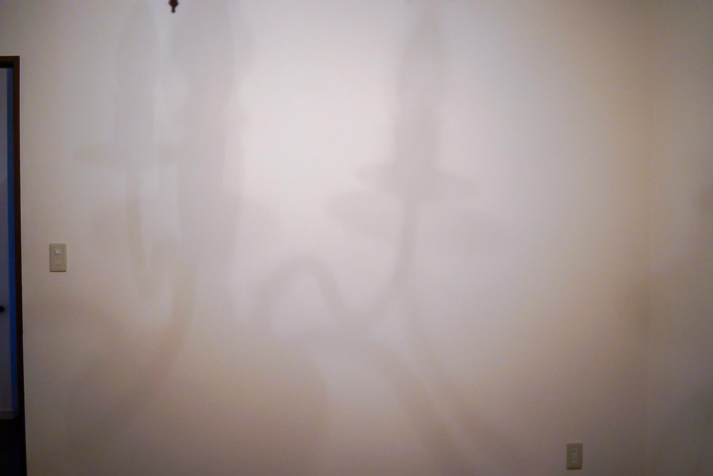 白い壁 実際のイメージ