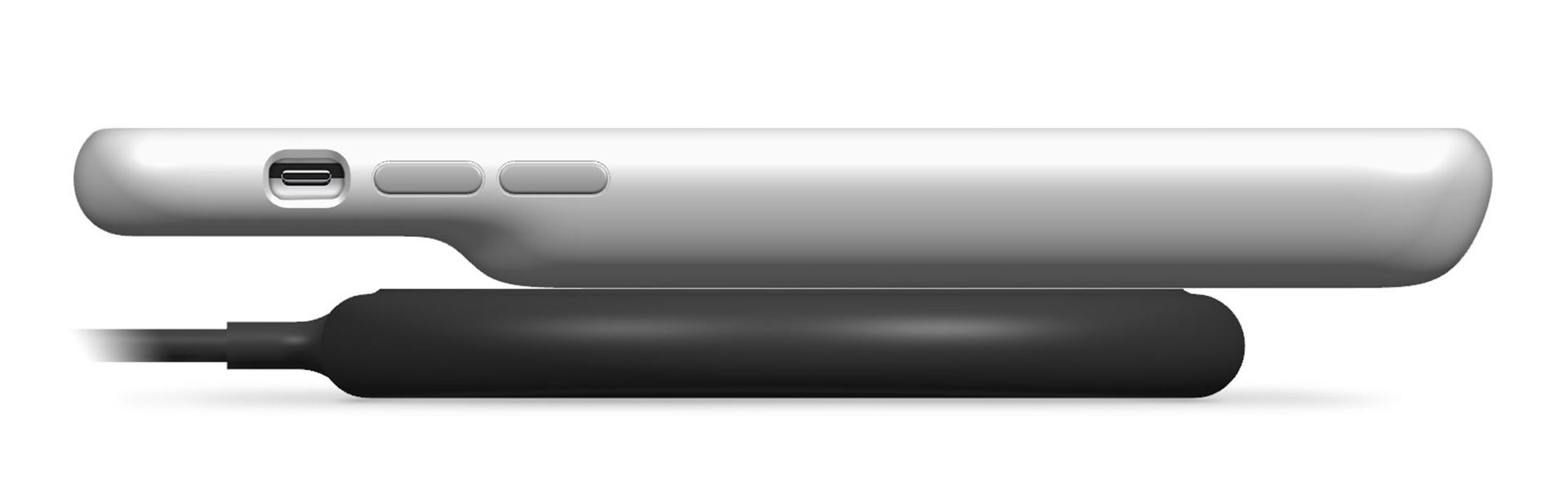 iPhone スマートバッテリーケース Qi充電 イメージ
