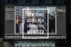 ViewSonic 4kモニター 記事 アイキャッチ