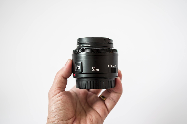 Canon 単焦点レンズ EF50mm F1.8 II